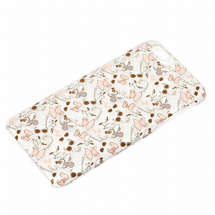 ハードケース マットクリア ミニーマウス iPhone 6 Plus