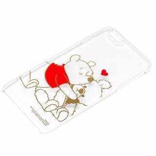 ディズニー ハードケース クリア金箔押し くまのプーさん iPhone 6 Plus