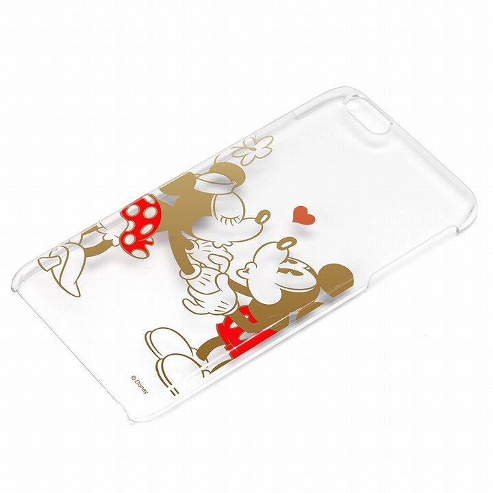 【iPhone6 Plusケース】ディズニー ハードケース クリア金箔押し ミッキー&ミニー iPhone 6 Plus_0