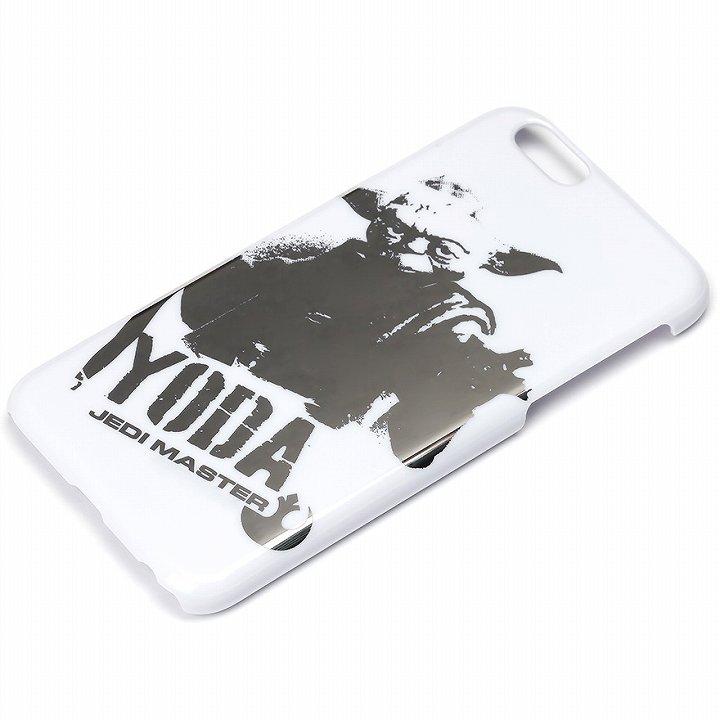 スター・ウォーズ ハードケース 銀箔押し ヨーダ iPhone 6
