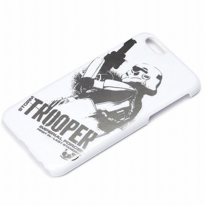 スター・ウォーズ ハードケース 銀箔押し ストームトルーパー iPhone 6