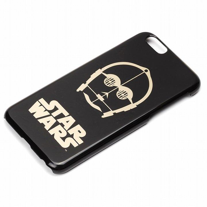 スター・ウォーズ ハードケース 金箔押し C-3PO iPhone 6