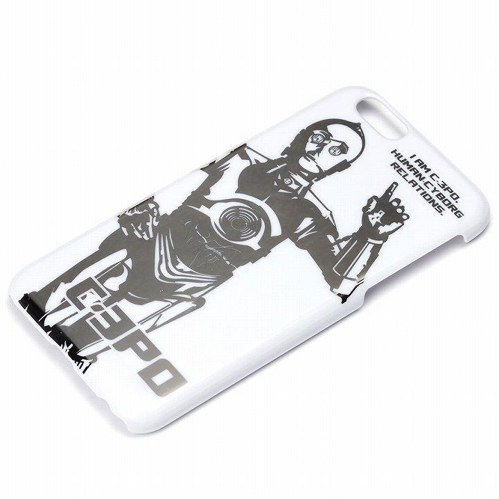 スター・ウォーズ ハードケース 銀箔押し C-3PO iPhone 6s/6