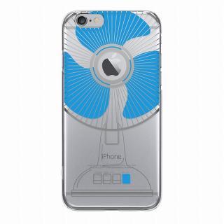 【iPhone6ケース】and Design クリアハードケース 銀箔/せんぷうき iPhone 6_4