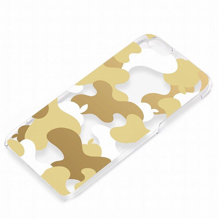 and Design クリアハードケース 金箔/カモフラゴールド iPhone 6