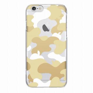 【iPhone6ケース】and Design クリアハードケース 金箔/カモフラゴールド iPhone 6_2