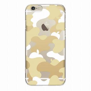 【iPhone6ケース】and Design クリアハードケース 金箔/カモフラゴールド iPhone 6_3