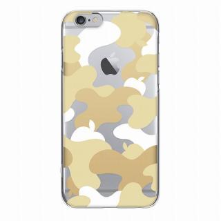【iPhone6ケース】and Design クリアハードケース 金箔/カモフラゴールド iPhone 6_4
