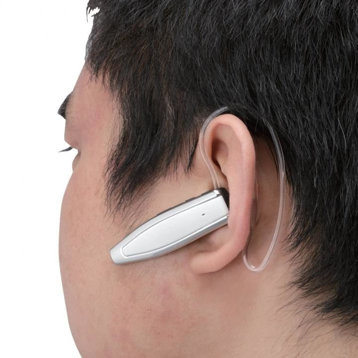 NFC対応Bluetoothヘッドセット LBT-MPHS510 ホワイト_0