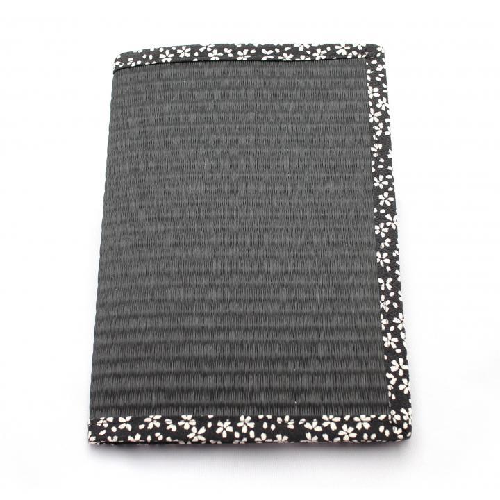 い草使用の畳ケース Tatami 桜黒 iPad mini/2/3ケース_0