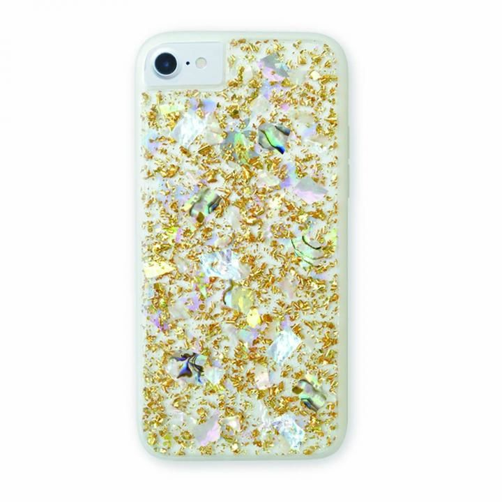 【iPhone8/7/6s/6ケース】CollaBorn Summer shell gold iPhone 8/7/6s/6_0