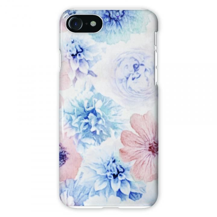【iPhone8/7/6s/6ケース】CollaBorn Flowers 背面ケース iPhone 8/7/6s/6_0