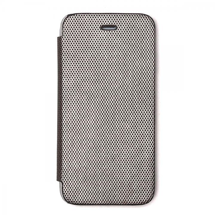 iPhone8/7 ケース ZENUS 背面クリア手帳型ケース Metallic シルバー iPhone 8/7_0