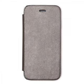 iPhone8/7 ケース ZENUS 背面クリア手帳型ケース Metallic シルバー iPhone 8/7