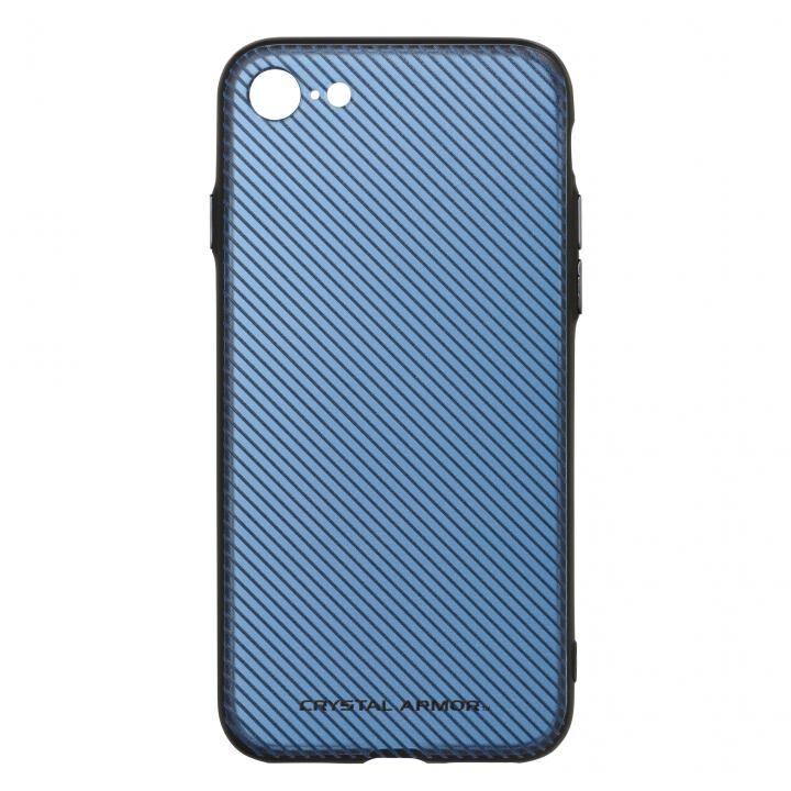 iPhone7 ケース 3Dプリンティッドシェルケース SLASH ブルー iPhone 7_0