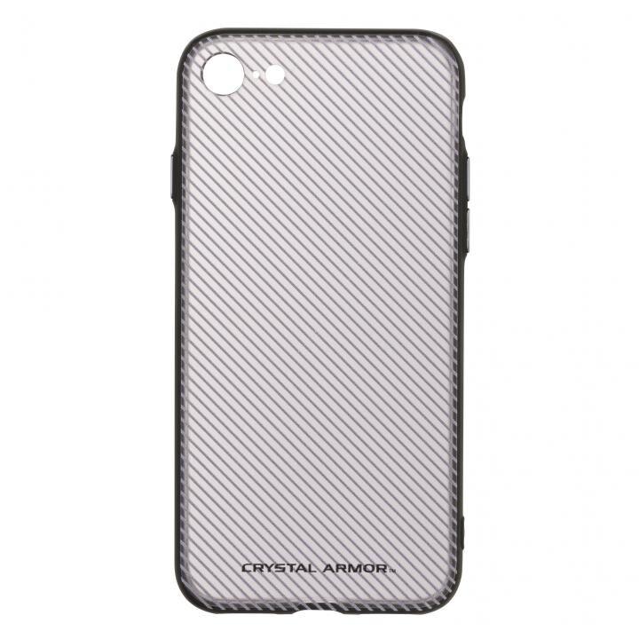 【iPhone7ケース】3Dプリンティッドシェルケース SLASH ブラック iPhone 7_0