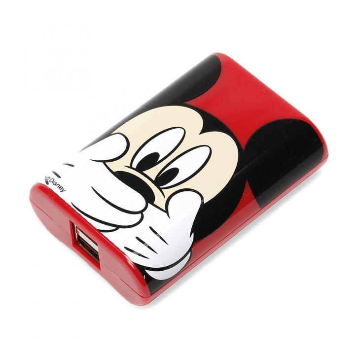 [5600mAh]ディズニー リチウム充電器 ミッキーマウス