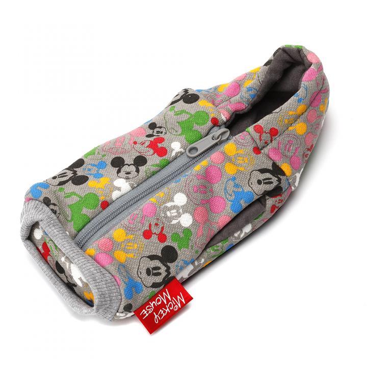 【iPhone SE/5s/5ケース】ディズニー Suicaも入るカードポケット付 パーカーポーチ ミッキーマウス_0