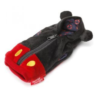 ディズニー Suicaも入るカードポケット付 パーカーポーチ ミッキーマウス 耳付き