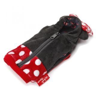 ディズニー Suicaも入るカードポケット付 パーカーポーチ ミニーマウス 耳付き