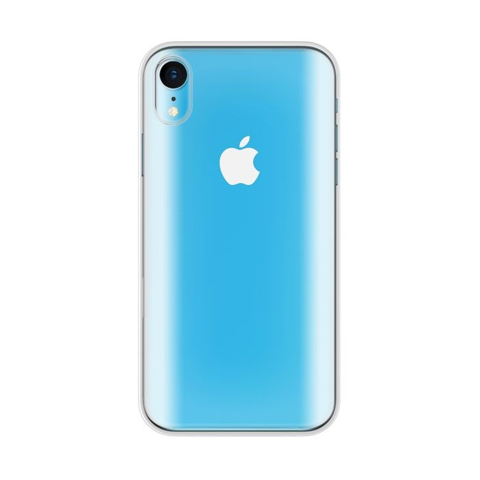 iPhone XR ケース LINKASE PRO / 3Dラウンド処理ゴリラガラス x 側面TPU素材ハイブリッドケース for iPhone XR_0