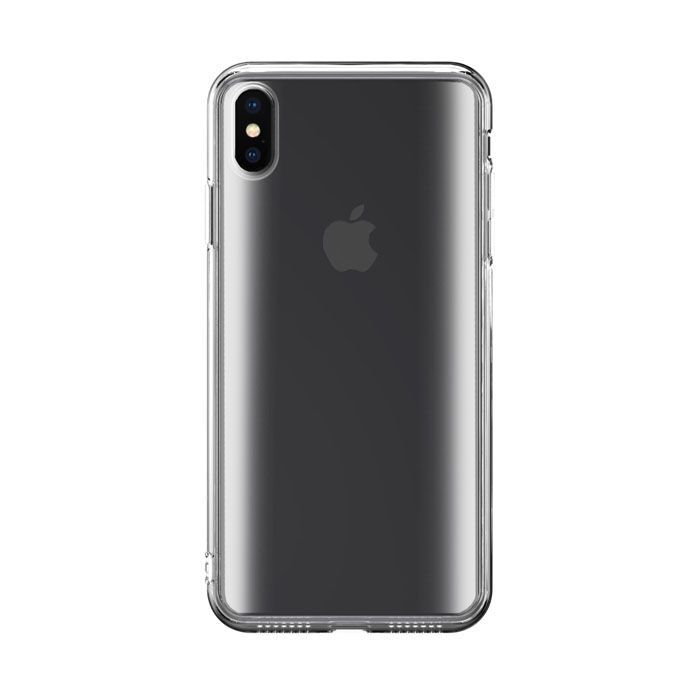 iPhone XS Max ケース LINKASE PRO / 3Dラウンド処理ゴリラガラス x 側面TPU素材ハイブリッドケース for iPhone XS Max_0