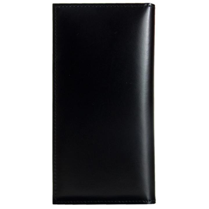 【iPhone7 Plus/6s Plusケース】CAMONE 松坂牛レザー手帳型ケース ブラック 5.5インチ汎用ケース_0