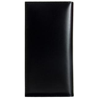 CAMONE 松坂牛レザー手帳型ケース ブラック 5.5インチ汎用ケース【12月中旬】