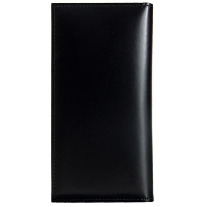 iPhone7/6s/6 ケース CAMONE 松坂牛レザー手帳型ケース ブラック 4.7インチ汎用ケース_0