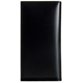 CAMONE 松坂牛レザー手帳型ケース ブラック 4.7インチ汎用ケース【7月下旬】