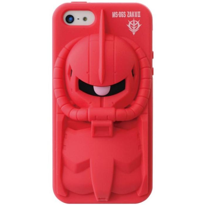 iPhone SE/5s/5 ケース デコレウェア iPhone5s/5 機動戦士ガンダム シャア専用ザク_0