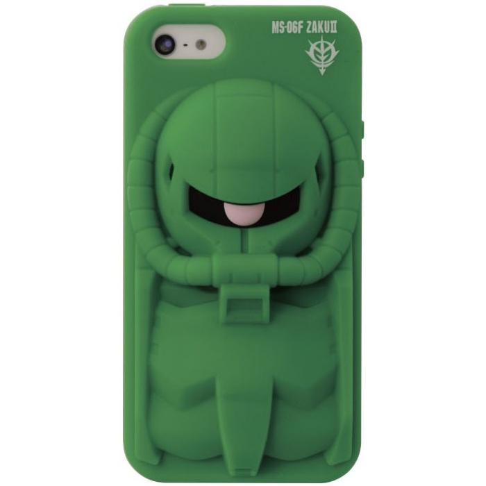 iPhone SE/5s/5 ケース デコレウェア iPhone5s/5 機動戦士ガンダム ザク_0