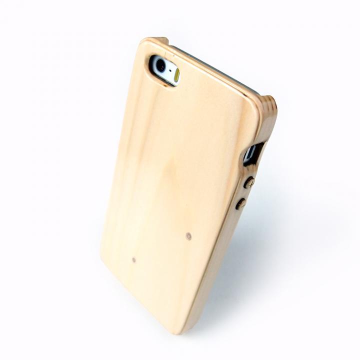 【iPhone SE/5s/5ケース】iPhone5/5s木製ケース(もみの木)_0