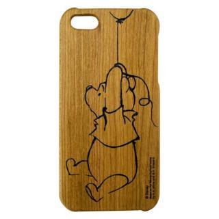 ディズニー 木製iPhone SE/5s/5ケース くまのプーさん