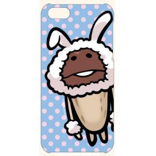 なめこ栽培 カスタムカバーiPhone SE/5s/5 (なめこ 白ウサギ)