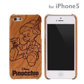ディズニー 木製iPhone SE/5s/5ケース ディズニー ピノキオ
