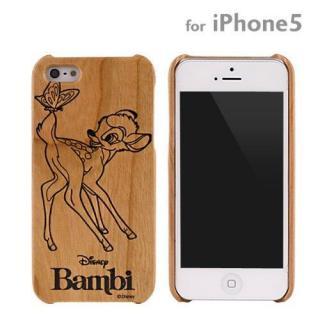 ディズニー 木製iPhone SE/5s/5ケース バンビ