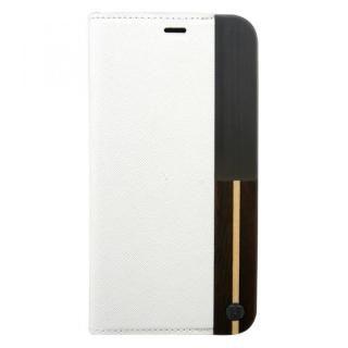 UUNIQUE 50:50 LUXE CROC - FOLIO HARD SHELL WHITE ASH iPhone X