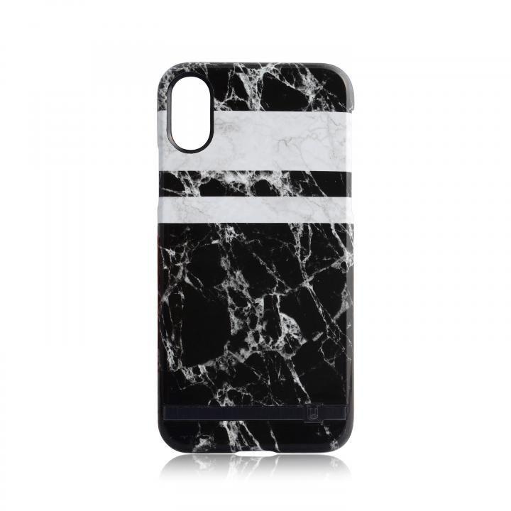 UUNIQUE MARBLE PRINT DESIGN MONOCHROME iPhone X