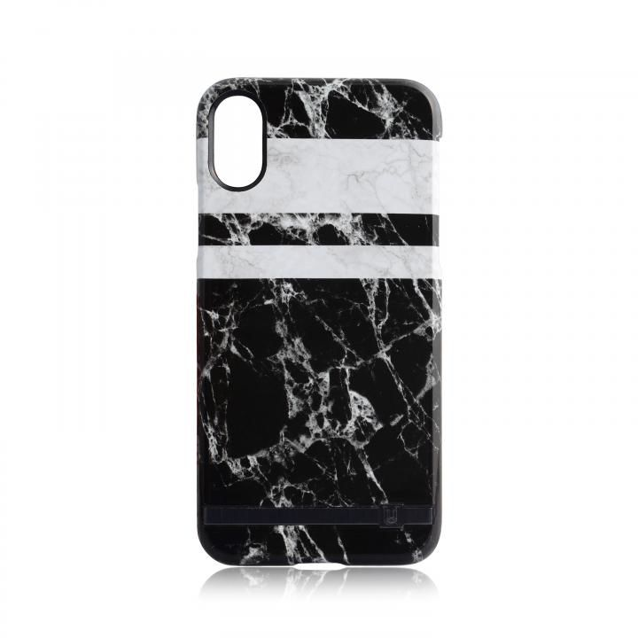 【iPhone Xケース】UUNIQUE MARBLE PRINT DESIGN MONOCHROME iPhone X_0
