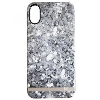 UUNIQUE MARBLE PRINT DESIGN GRANITE GREY iPhone X