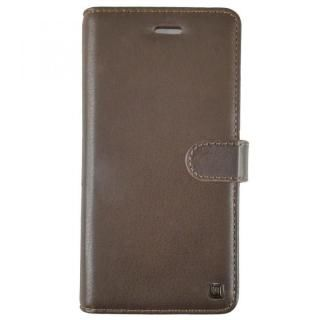 UUNIQUE 本革 スライド式内側手帳型ケース Brown iPhone X