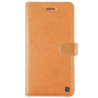 UUNIQUE 本革 スタンド機能手帳型ケース Tan iPhone X