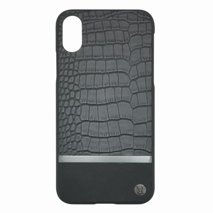 【iPhone Xケース】UUNIQUE 50:50 HARD SHELL MAXI(CROC) iPhone X_0