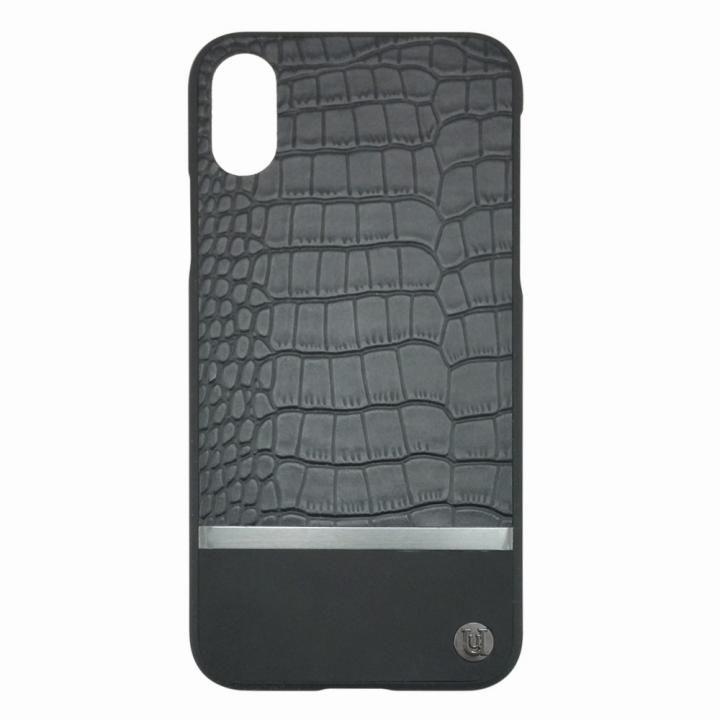 UUNIQUE 50:50 HARD SHELL MAXI(CROC) iPhone X