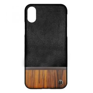 UUNIQUE 50:50 HARD SHELL BLACK(WALNUT WOOD) iPhone X