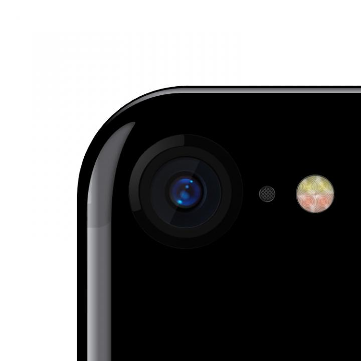 truffol カメラレンズ保護 クリーナー付き Aluminium Lens Guard ジェットブラック iPhone 7_0