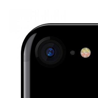 truffol カメラレンズ保護 クリーナー付き Aluminium Lens Guard ジェットブラック iPhone 7