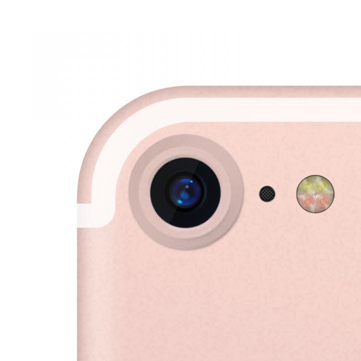 truffol カメラレンズ保護 クリーナー付き Aluminium Lens Guard ローズゴールド iPhone 7_0