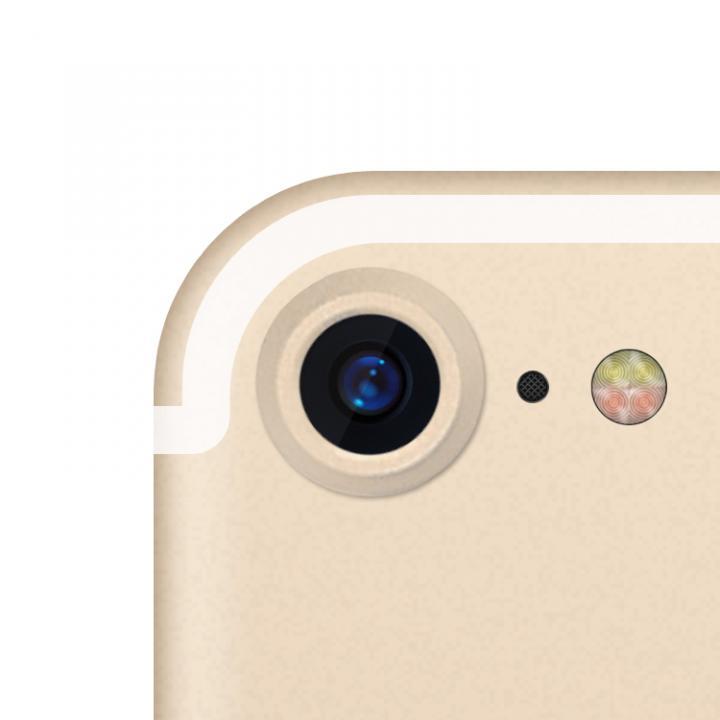 truffol カメラレンズ保護 クリーナー付き Aluminium Lens Guard ゴールド iPhone 7_0